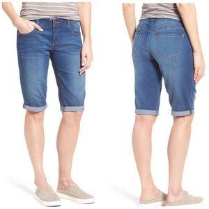 NWT Wit & Wisdom Absolution Bermuda Jean Shorts 6P
